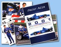 Les documents Prost Grand Prix